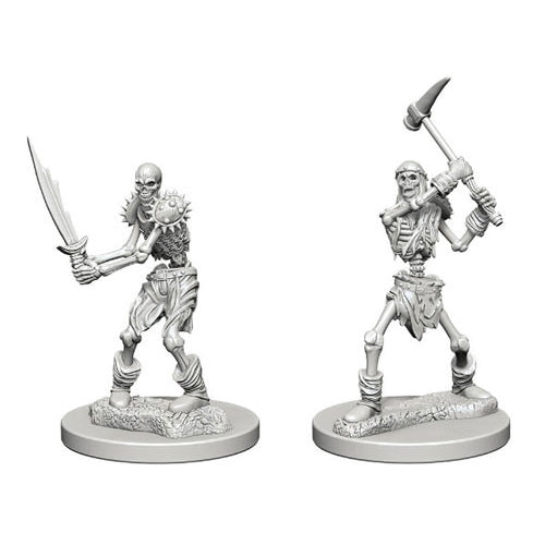 Skeletons (2) - D&D Miniatures-RedQueen.mx