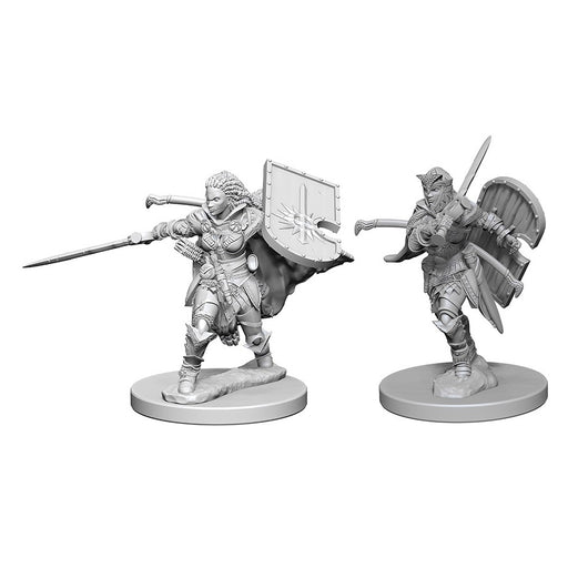 Human Female Paladin (2) - Pathfinder Battles Miniatures-RedQueen.mx