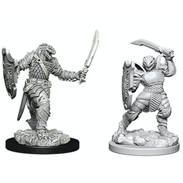 Dragonborn Female Paladin (2) - D&D Miniatures-RedQueen.mx