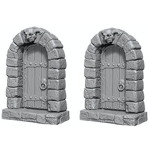 Deep Cuts Unpainted Miniatures: Doors - WizKids/NECA