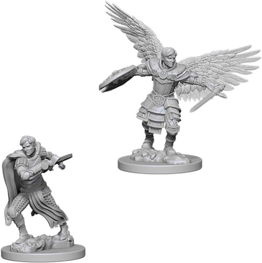 D&D Nolzur's Marvelous Unpainted Minis: Male Aasimar Fighter - WizKids/NECA