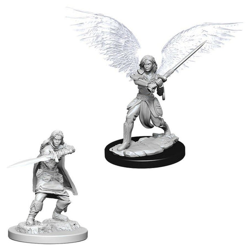 D&D Nolzur's Marvelous Unpainted Minis: Aasimar Female Fighter - WizKids/NECA