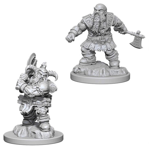 Dwarf Male Barbarian (2) - D&D Miniatures-RedQueen.mx