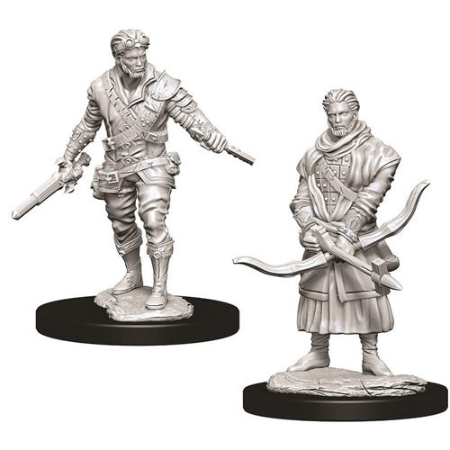 Human Male Rogue (2) - D&D Miniatures-RedQueen.mx