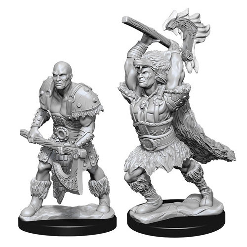 Goliath Male Barbarian (2) - D&D Miniatures-RedQueen.mx