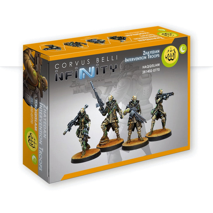 Zhayedan Intervention Troops - Infinity: Haqqislam Pack-RedQueen.mx