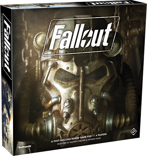 Fallout The Board Game-RedQueen.mx