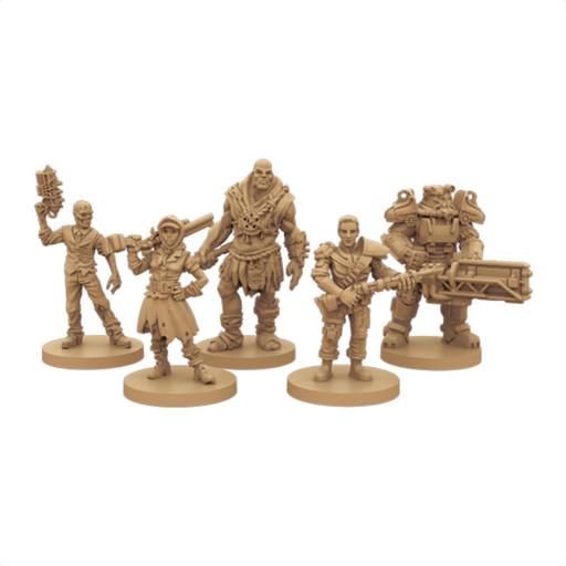 Fallout The Board Game - FFG Fallout