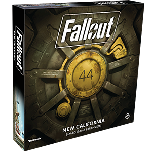 Fallout The Board Game: New California Expansion-RedQueen.mx