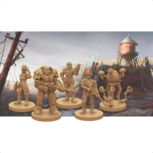 Fallout The Board Game: New California Expansion - FFG Fallout