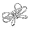 diamond bow gift ring large
