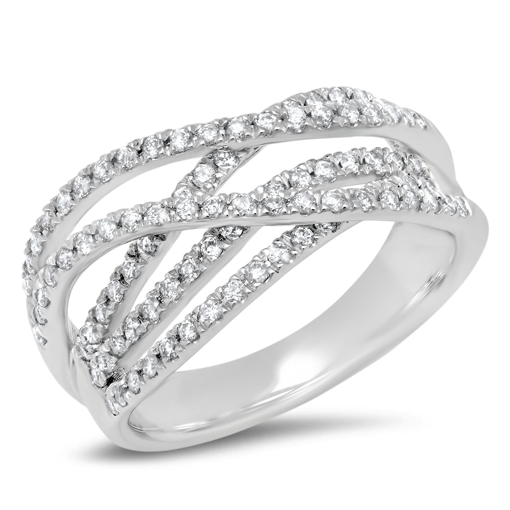 Diamond Multi Band Ring