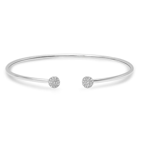 Diamond Circle Intertwined Bracelet