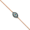 Diamond Disc on Chain Choker