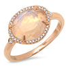 Bridged Sunray Ring