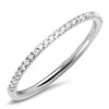 thin diamond wedding band real genuine eternity