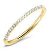thin diamond wedding band real eternity