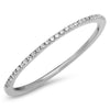 Super Skinny Diamond Stackable Band