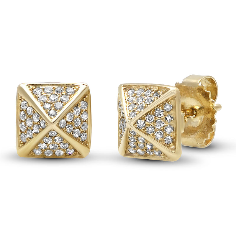 Diamond RockStud Stud Earring