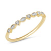 Diamond Heart Stackable Ring