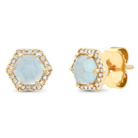 Triple Star Cluster Stud Earring
