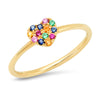 3 Band Tri Color Ring