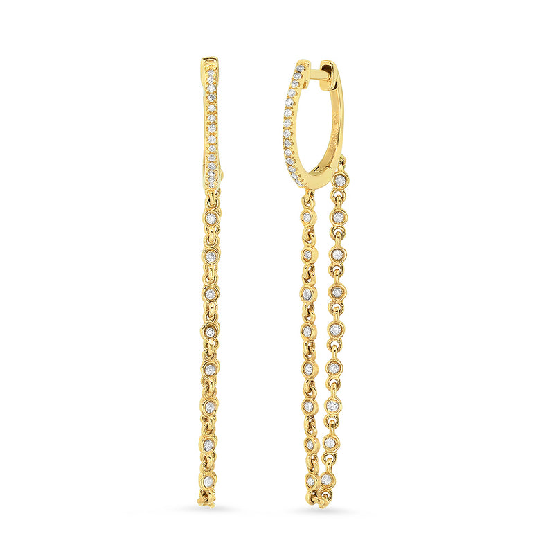 Chained Huggy Earring