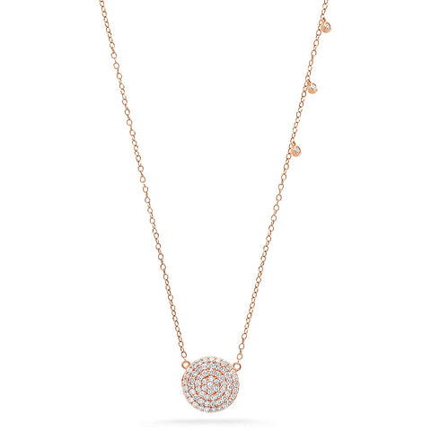 Petite Diamond Butterfly Necklace