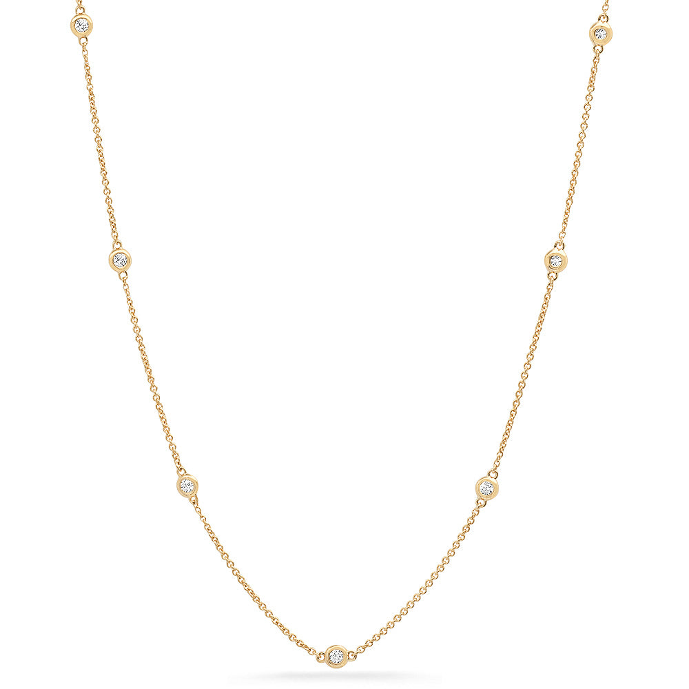 diamond by inch chain 18 inch