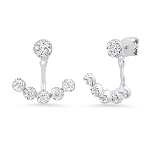 Antique Design 3 Piece Diamond Stud