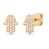 sydney evan evil eye protection diamond earring