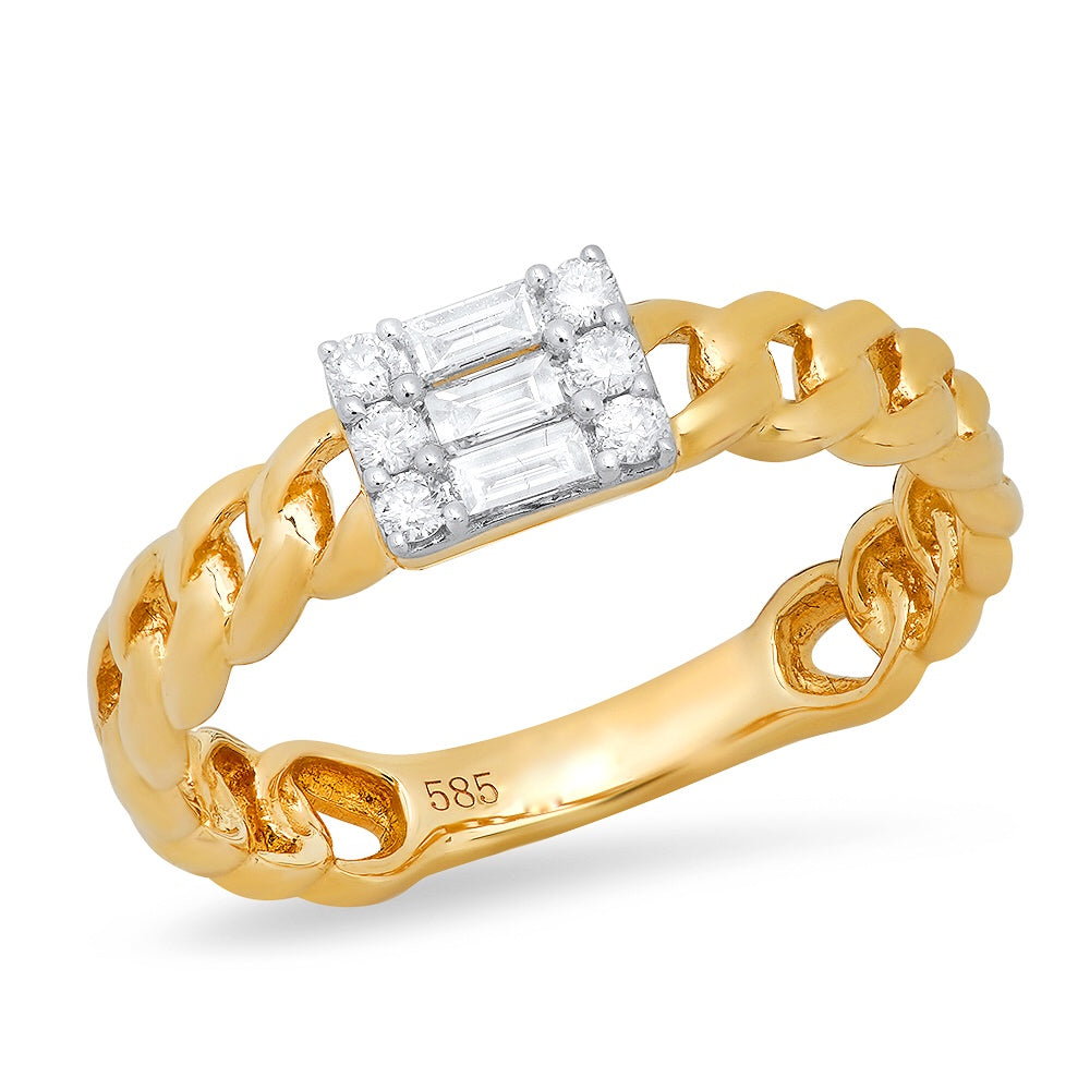 shay jewelry link ring