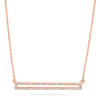 Diamond Droplet Bezel Choker
