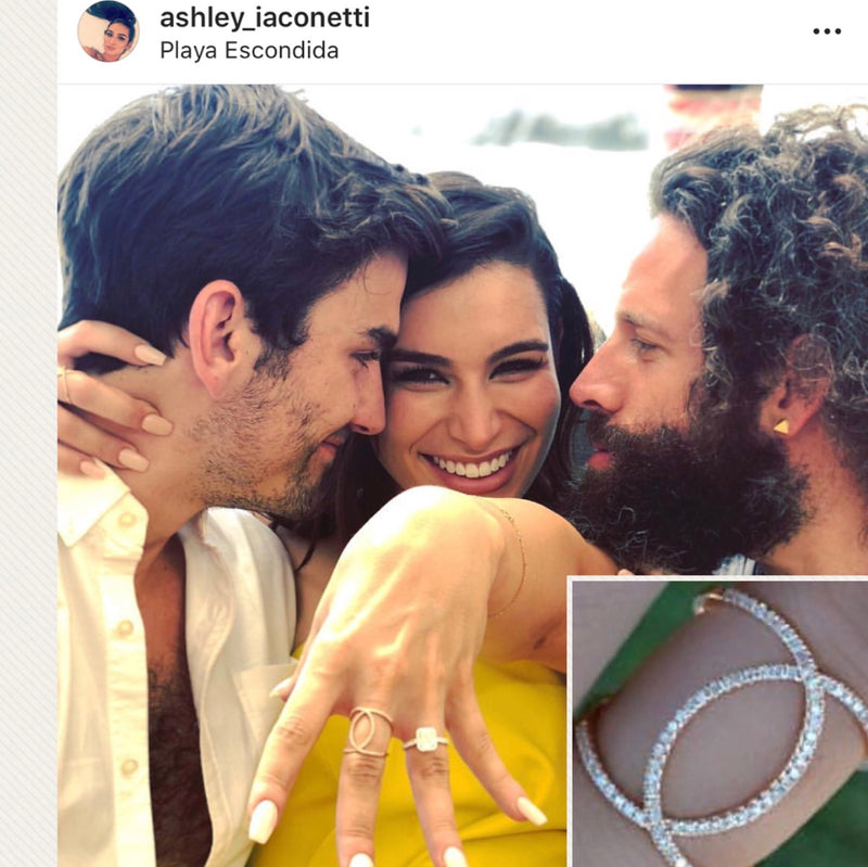 Ashley I engagement ring from the bachelor diamond