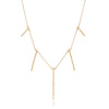 Diamond Long Stick Necklace