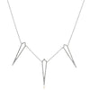 Diamond Kite Necklace