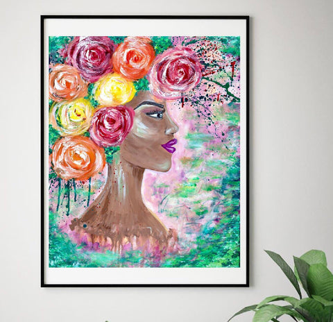 """Enchanted"" Print"