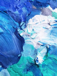 """Blue Waves"" Abstract Photography"