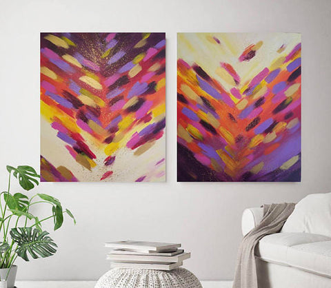 """Violet Dreams II"" Original Painting"