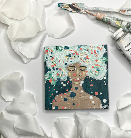 Bloom Queen V Original Painting