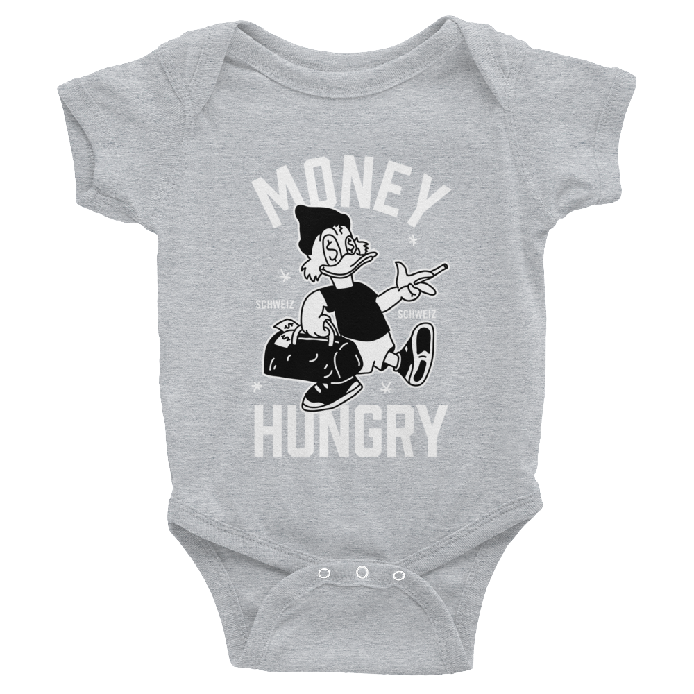 Money Hungry Schweiz Baby Jumpsuit