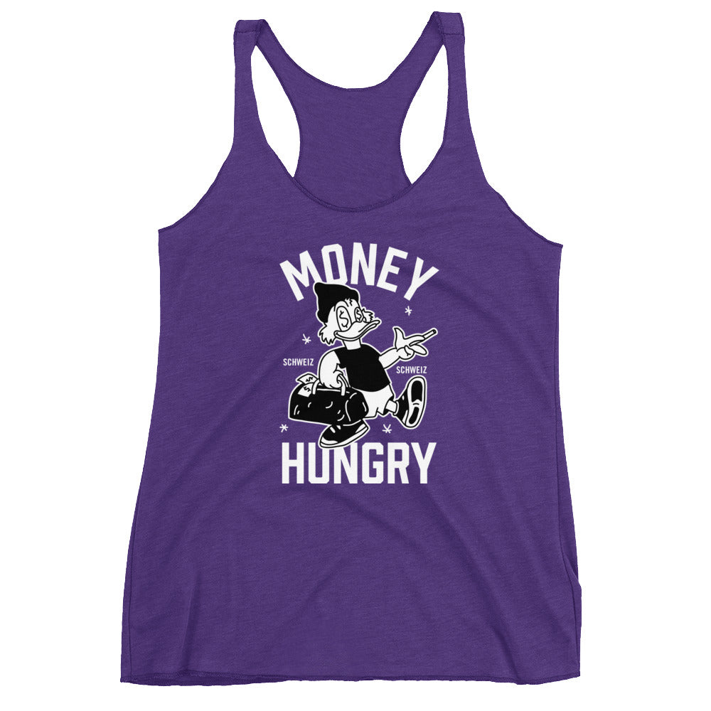 Money Hungry Schweiz Ladies' Triblend Tank