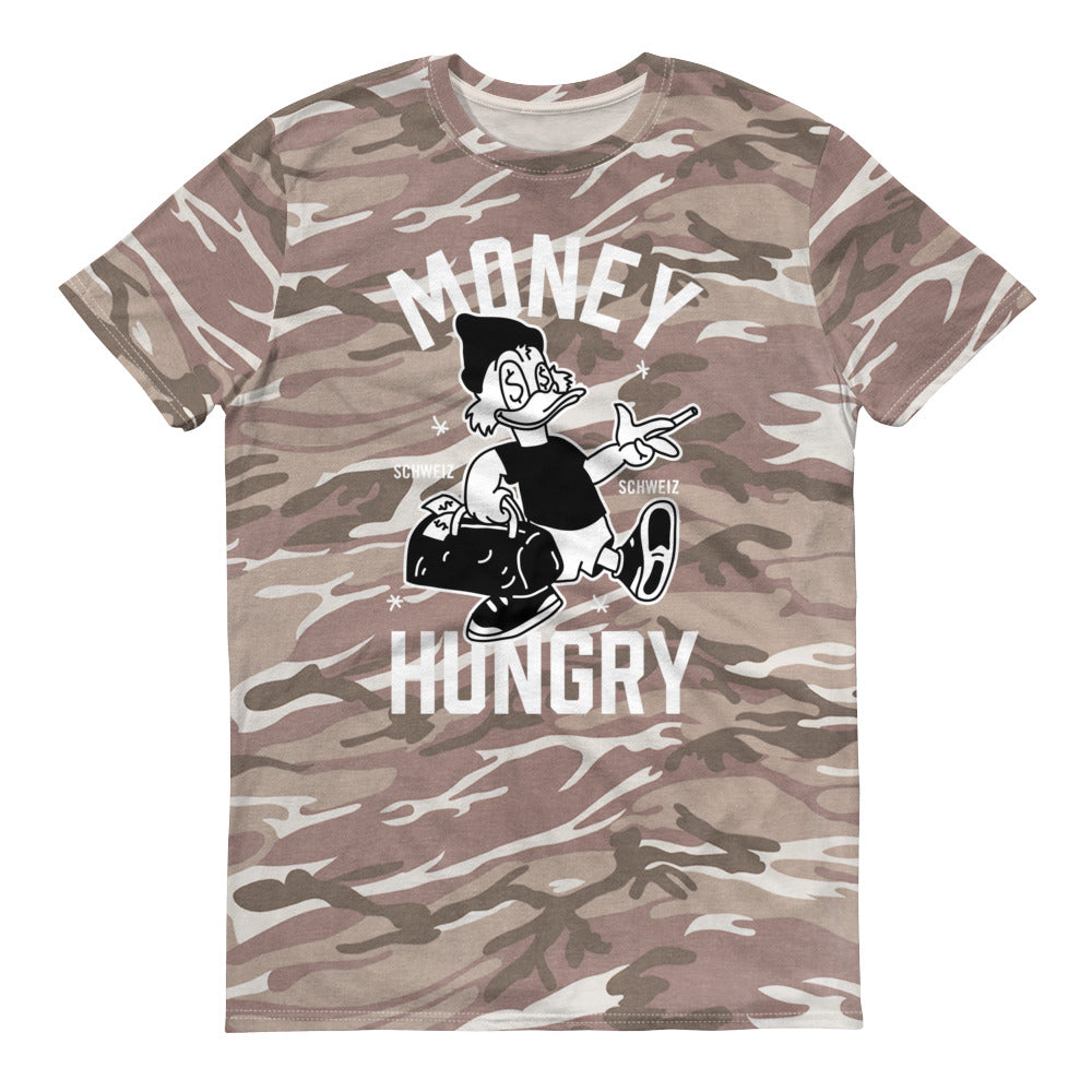 Money Hungry Schweiz Sand Camouflage T-Shirt