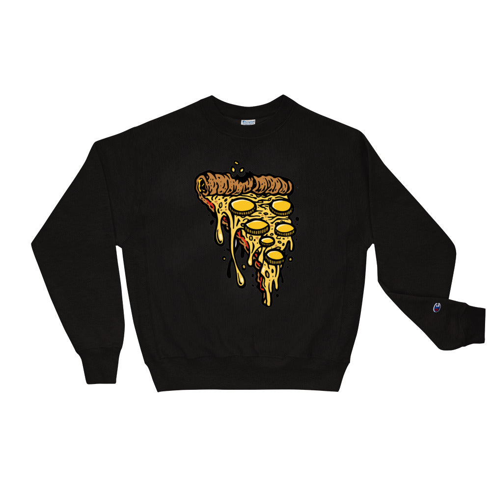 Money Hungry Slice Champion Crewneck