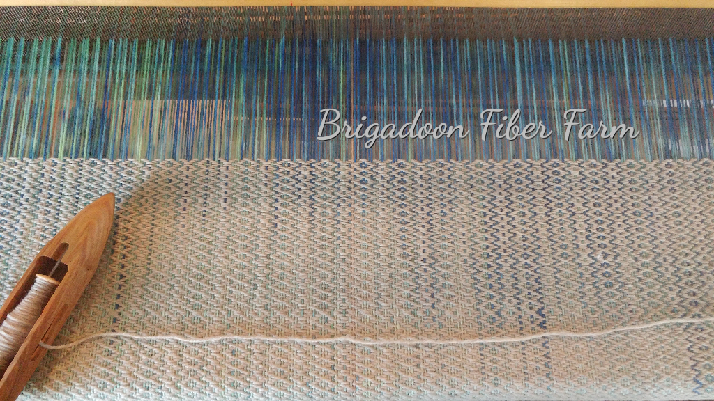 Painting a Warp to Weave