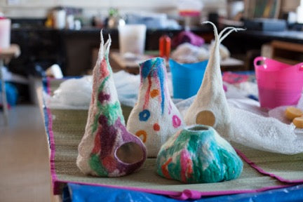 Fantastic Felted Vessel Workshop!