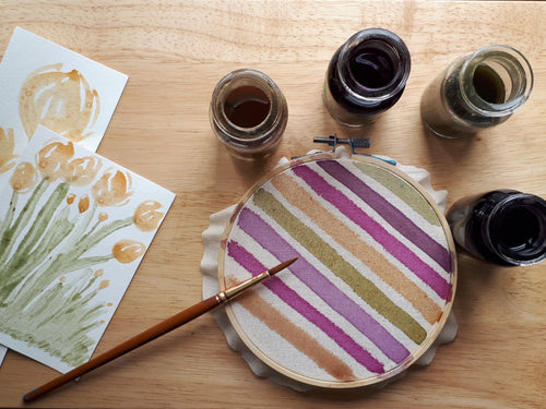 Painting with Natural Dyes