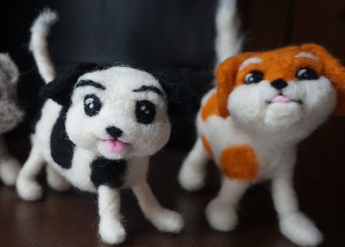 Intermediate 3D Needle Felting Course – Felting with a Wire Armature