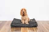 Large Black Metallic Cross Dog Mattress