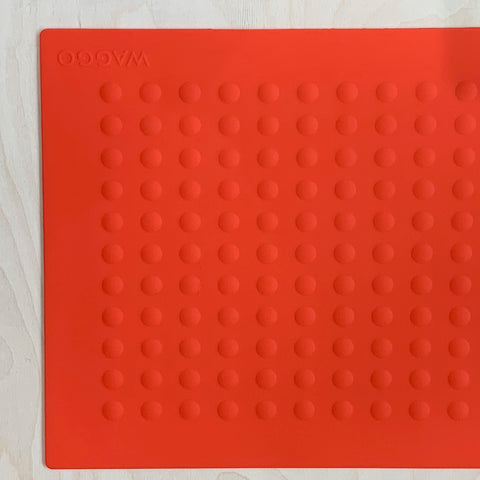 Bubbles Placemat Red